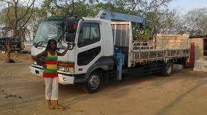 truck mitsubishi fuso customer u0027s voice from zambia mitsubishi fuso fighter crane
