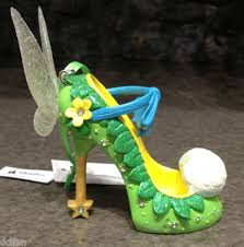disney parks tinker bell princess shoe ornament new