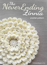 Free Cushion Crochet Patterns The Neverending Zinnia Crochet Pattern Free Flower Crochet