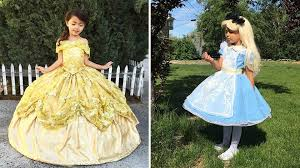dad designs magical disney inspired costumes for his kids today com