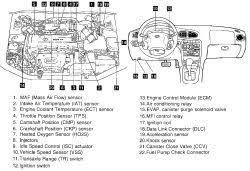 2002 hyundai elantra speed sensor repair guides component locations component locations