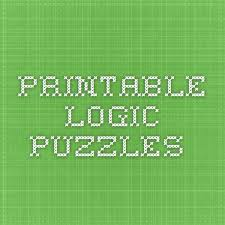 Printable Logic Puzzles 29 Best Self Esteem Images On Pinterest Game Logic Games For