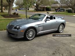 chrysler crossfire srt 6 convertible for sale 2005 chrysler