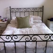 bed u0026 bath vintage black wrought iron bed frames and unique bed