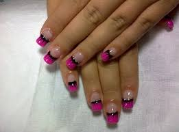 40 cute and easy nail art designs for beginners black nails