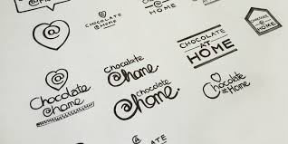 chocolate at home branding packaging design toast design chocolate at home brand design