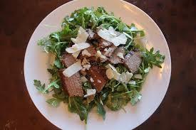 barefoot contessa arugula salad steak and arugula salad
