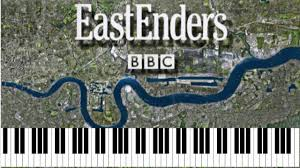 easy piano eastenders keyboard tutorial tv theme by ept