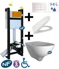 Wc Suspendu Dimensions Bati by Tub Concept Sanitaire Wc Pack Wc Suspendu Evo
