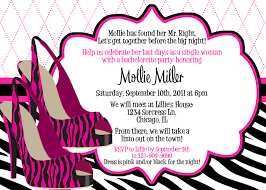 make your own party invitation bachelorette party invitation wording iidaemilia com