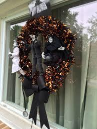 halloween door garland young frankenstein halloween wreath u2013 sometimes i get bored