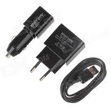 t harger horloge de bureau easyway 1105tc u 3 in 1 usb eu ac power charger adapter car