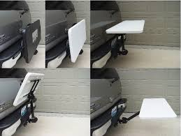 boone outdoor sports fan tailgate table gray 2 u2033 hitch boone