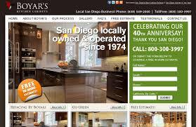 Boyars Kitchen Cabinets Boyar S Kitchen Cabinets San Diego Web Design Transcend Solutions
