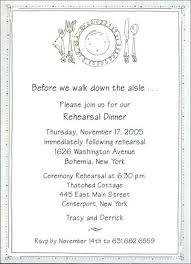 dinner invitation wording rehearsal dinner invitations wording niengrangho info