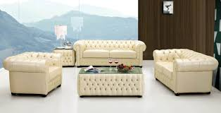 3 560 00 258 living room set ivory leather sofa loveseat and