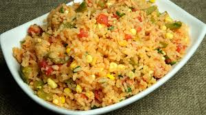 Manjula Kitchen Mexican Rice Manjula U0027s Kitchen Indian Vegetarian Recipes