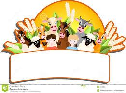 children and happy farm animals stock image image 23109081