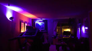 cool lights for room seriously cool my new living room lights youtube
