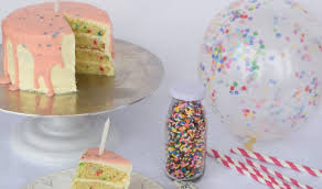 the best birthday cake recipe includes three types of funfetti