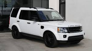 black land rover lr4 2014 land rover lr4 hse black design package stock 5988