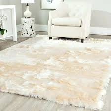 White Fur Area Rug Vanity White Fur Area Rug Faux Sheepskin Coffee Tables Fluffy Rugs