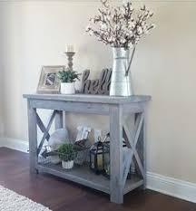 X Console Table Free Building Plan For This Easy Double X Console Table Make It