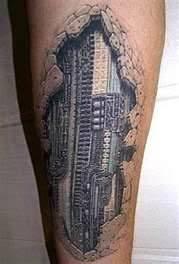 tattoo 3d mechanical 3d mechanical under skin tattoo 3d circuit board the tattoo
