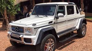 future mercedes g class mercedes benz seems to be building a maybach g wagen convertible