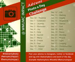 Challenge Original Free Editable Advent Photo Of The Day Challenge Min2youth