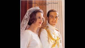 wedding king konstantine and queen anne marie of greece youtube