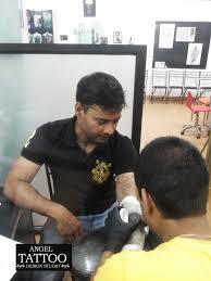 angel tattoo design studio suraj joshi what was thought is