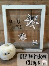 halloween crafts for kids easy homemade window clings