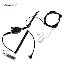 popular ptt throat mic buy cheap ptt throat mic lots from china