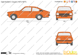 opel kadett 1975 the blueprints com vector drawing opel kadett c coupe
