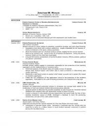 examples of resumes chronological resume sample program director