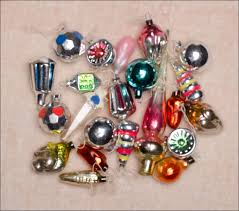 set of 21 vintage miniature ornaments small topper at