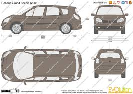 Renault Scenic 2005 Interior The Blueprints Com Vector Drawing Renault Grand Scenic