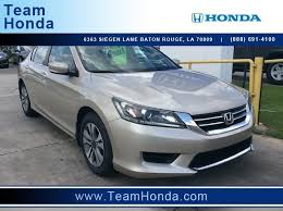 pre owned honda cars specials on certified pre owned honda cars in baton la