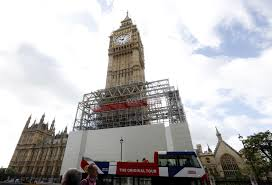 London Clock Tower by Big Ben Bell To Go Silent In London For Repairs Until 2021