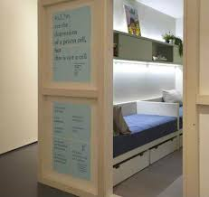 Freedom Rooms Micro Apartments Designed By Prisoners - Micro apartment design