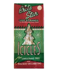 amazon com brite star tinsel icicles 1000 strands per package