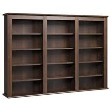 Bookcase Cabinet With Doors Media Cabinets Bookshelves Bookcases For Less Overstock