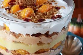 pumpkin spice trifle for thanksgiving savory palate