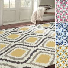 Pier One Runner Rugs Debonair Interior Living Room Decor Idea Ikat Carpet Grey Ikat