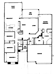 floor plans for 1 story homes verde ranch floor plan 2490 model
