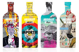 absolut vodka design all creativity starts with an absolut blank graphic news