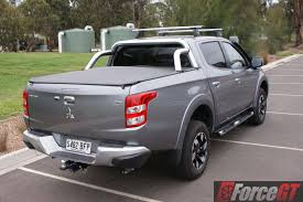 mitsubishi cars mitsubishi cars review triton gls 2016 at 14 rear right