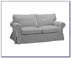 White Sofa Slip Cover by Black And White Sofa Slipcovers Ektorp 3 Seater Sofa Cover
