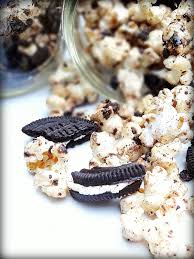 Red Kitchen Recipes - cookies and cream popcorn big red kitchen a regular gathering